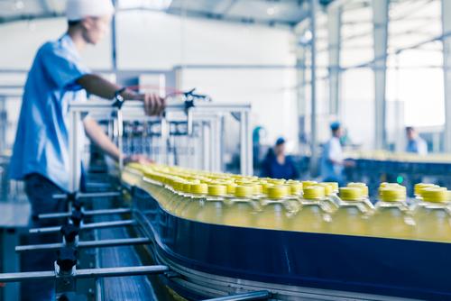 ベトナムの食品加工工場