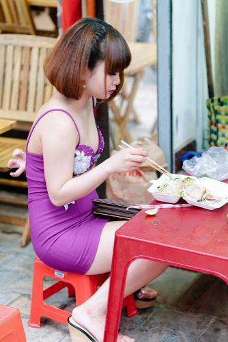ベトナムの一般女性