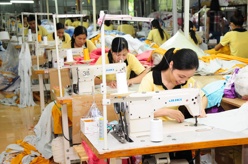 ベトナムの製造工場