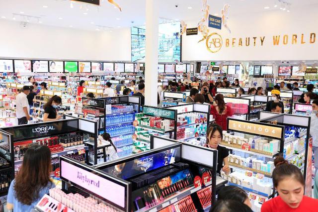 ベトナムの化粧品店